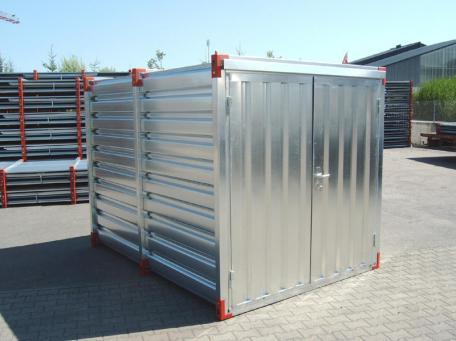skladové kontejnery s vanou